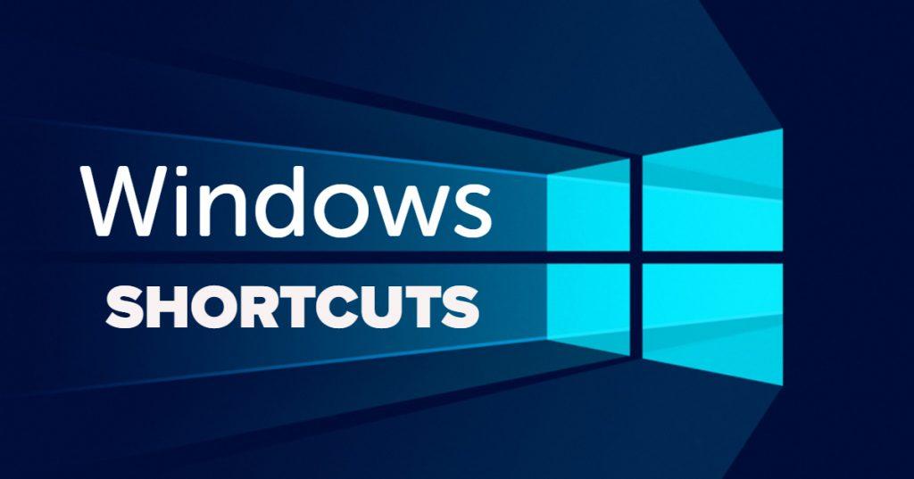 windows 10 shortcuts - клавишни комбинации