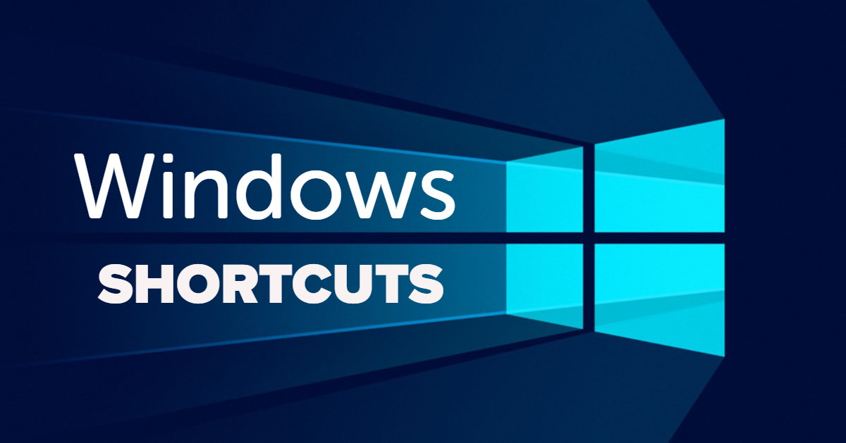 windows 10 shortcuts - клавишни комбинации