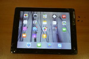 Apple iPad 3 (А1430), със счупен дигитайзер