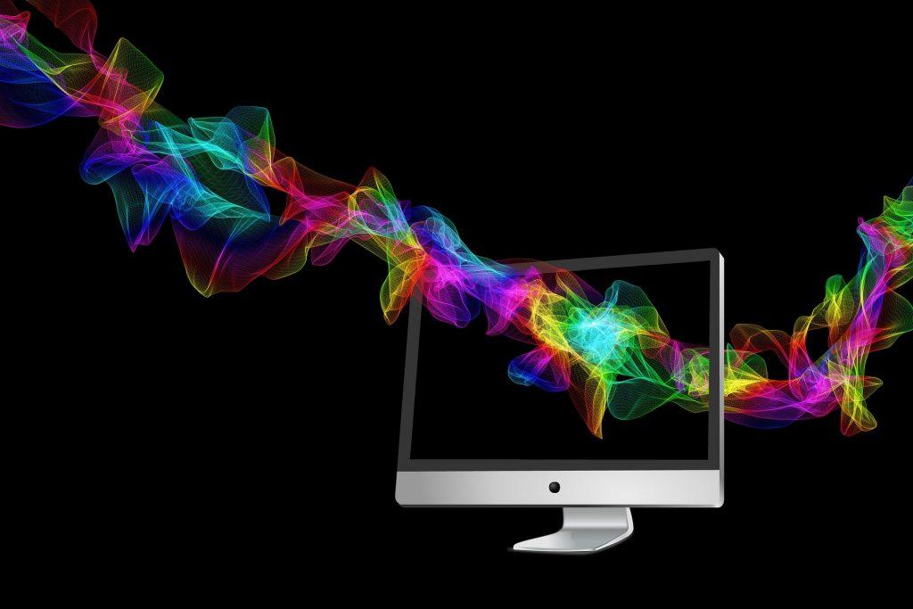 монитор цветове